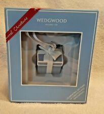 Wedgwood Christmas Present Blue Tree Ornament Item #40035054