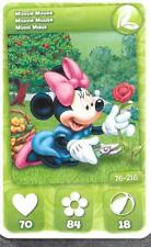 Carte Mickey Mouse & Friends - n° 76 - Minnie Mouse - Jardin - 2012