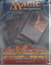 Premium Deck Series Fire & Lightning   Magic the Gathering - Factory Sealed -