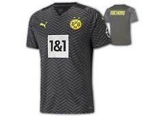 Puma BVB Away Shirt 21 22 schwarz Borussia Dortmund Auswärtstrikot Jersey S-3XL