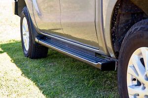 EGR Side Steps for Ford PX Ranger Dual or Extra Cabs - Black