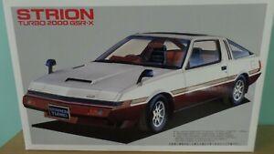 Mitsubishi Starion Turbo 2000 GSR-X - 1:24 Scale Fujimi Plastic Kit #03249