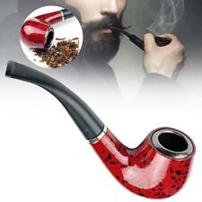 Wooden Enchase Smoking Durable Pipe Tobacco Cigarettes Cigar Pipes New Gift FZ
