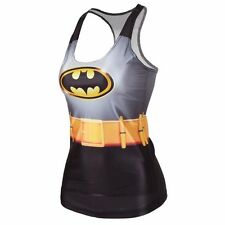 Batman Camisole/Tank Top, One Size fits 8 to 12, UK Seller, BNWT
