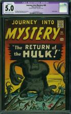 Journey into Mystery #66 CGC 5.0-Restored -- 1961 -- Hulk prototype #1273075014
