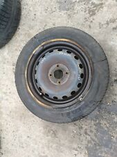RENAULT CLIO MK2 01-06 STEEL WHEEL WITH TYRE 4 STUD 175/65R14 181030 6MM
