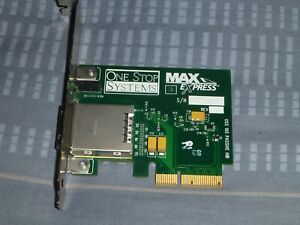 Avid Host PCIe Card for Nitris DX or Mojo DX 7030-30021-01 Excellent Condition