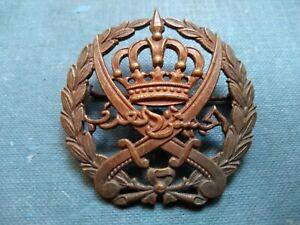 #189 – JORDAN ARAB LEGION CAP BADGE – brooch Fitting