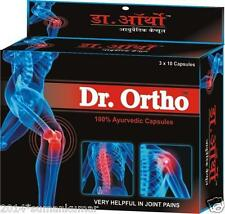 4x Dr. Ortho Ayurvedic Pain Relieving Capsules Pack 30Cap Helpful in Joint Pains