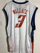 Adidas NBA Jersey Charlotte Bobcats Gerald Wallace White sz 2X
