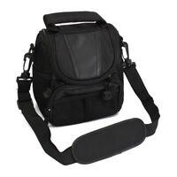 Small Nylon Waterproof Camera Shoulder Bag Case Handbag For Nikon  SLR DSLR I5T8