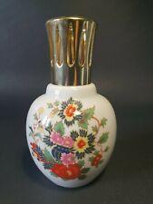 🌸  artoria Limoges pour LAMPE BERGER décor floral