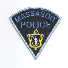 **MASSASOIT MASSACHUSETTS POLICE PATCH**