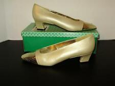 J. Renee Womens shoes-Size 8 Narrow-Gold heels