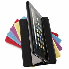 For Fire 7th Generation 2017 Tablet Case Fabric Leather Smart Stand Folio Cover