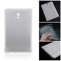 For Samsung Tablet Slim Clear TPU Cover Shell Transparent Soft Silicone Case