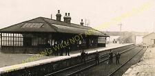 Ulleskelf Railway Station Photo. Church Fenton - Bolton Percy. York Line. (1)