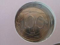 100 LIRE DAL 1968 AL 2001,DA SERIE DIVISIONALE O ROTOLINO, FDC