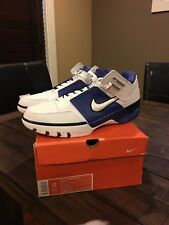Nike LeBron 1 Air Zoom Generation Low White Varsity Royal
