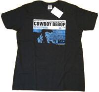 New Cospa COWBOY BEBOP t shirt XL anime Sunrise Japan Spike Spiegel manga black