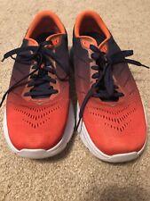 Hoka One One Men's Mach 2 Road Running Shoes Patriot Blue Nasturtium Size 8,