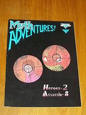 MYTH ADVENTURES #3 SEPTEMBER 1984 WARP GRAPHICS US MAGAZINE~