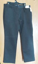 New New York & Company Cityknit MidRise Petite Size 16 pant Slim Dress Pants