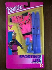 Barbie My First Sporting Life Fashions Skiing Outfit NIP 862 Pink Purple 90's