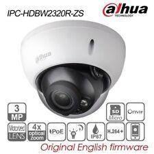 Dahua 3MP Dome IP Security Camera 4X VF Motor PoE IR P2P H.264+ IPC-HDBW2320R-ZS