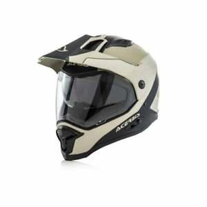 Acerbis Adults Reactive VTR Dual Road Adventure Motor Bike Motorcycle Helmet