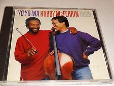 CD Yo-Yo Ma / Bobby McFerrin: HUSH (1992 Sony Music) Classical