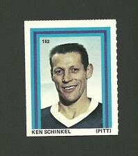 Ken Schinkel #162 Pittsburgh Penguins 1971-72 Eddie Sargent Hockey Stamp
