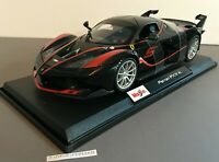 Maisto Ferrari FXX K 2020 Special Edition 1:18 Scale Black New In Box  #31717