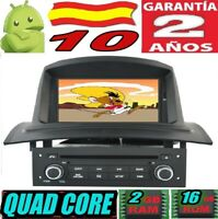 "ANDROID 10 RENAULT MEGANE 2 II (2002-2008)  RADIO 7"" COCHE GPS CAR SD WIFI 3G"