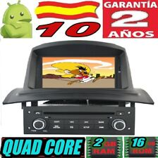 """ANDROID 10 RENAULT MEGANE 2 II (2002-2008)  RADIO 7"""" COCHE GPS CAR SD WIFI 3G"""