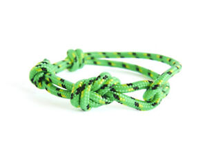 Best Friend Bracelet for 2 3 Simple String Rope Cord Womens Mens Jewelry Green