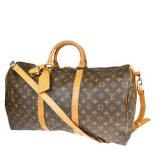 AUTH LOUIS VUITTON KEEPALL 50 BANDOULIERE 2WAY HAND BAG MONOGRAM M41416 78MB790