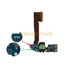 USB Dock Charging Port Flex Cable w/ Headphone Jack and MIC for HTC One M8 16GB