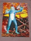 3D lenticular Creature From the Black Lagoon Post Card