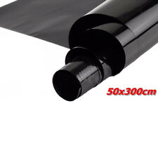 50cm*3m 15% VLT Black Pro Car Home Office Glass Window Tint Tinting Film Roll