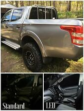 MITSUBISHI TRITON DUAL CAB 2015+ INTERIOR LED UPGRADE KIT - SUPER BRIGHT!!!
