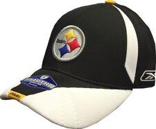 Pittsburgh Steelers NFL Reebok Sideline Black/White Hat - Youth 4-7 Years