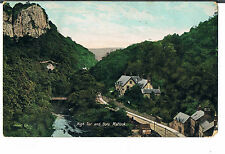 VALENTINES POSTCARD HIGH TOR AND DALE MATLOCK 1909 image taken pre 1895 prb 1892