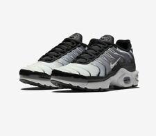 Kids Nike Air Max Plus (GS) 655020-077 Black/White NEW Size 3.5Y