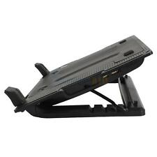 "New One Big Fan USB Notebook Computer Cooling Pad Stand 9-17"" Adjustable Black"