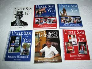 Uncle Sam and You Curriculum Package Notgrass History Civics 6 Book Set Gr 5-8