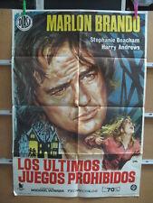 2557        LOS ULTIMOS JUEGOS PROHIBIDOS MARLON BRANDO