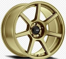 17x9 Konig Ultraform 4x100 +43 Gold Rims (Set of 4)