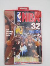 1999 Nba 32 Kids School Valentines Day Cards New Kobe Bryant Tim Ducan Shaq +