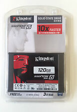 NEW Kingston 120GB SSD V300 SSDnow Solid-State SATA3 6GB/sec Hard Drive 2.5 inch